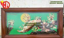 Tranh đồng coongmai - Uyên ương dạ nguyệt