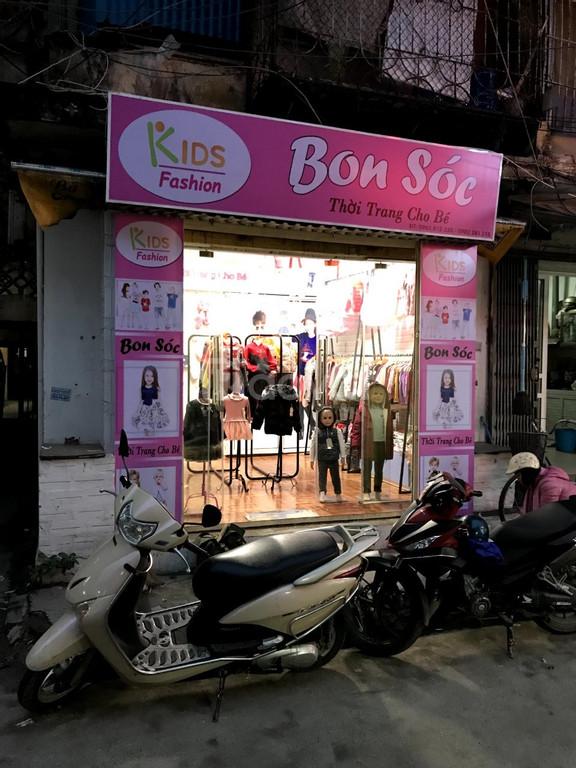 Chuyển nhượng cửa hàng thời trang trẻ em