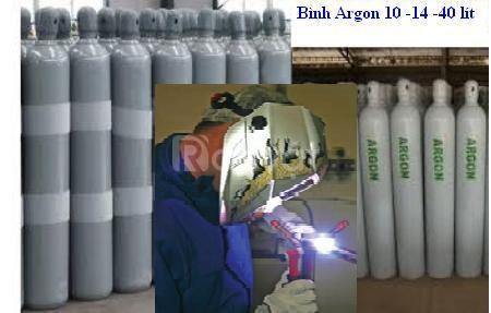 Bán và cho thuê bình khí Hàn Tig (argon)