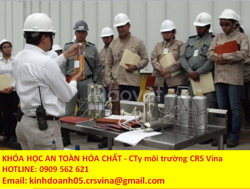 Khóa đào tạo an toàn hóa chất theo nghị định 113 tại TPHCM