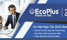 Hãng sơn EcoPlus tuyển nhân viên kinh doanh