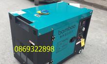Máy phát điện Bamboo BmB 8800ET 7kw chạy dầu chống ồn