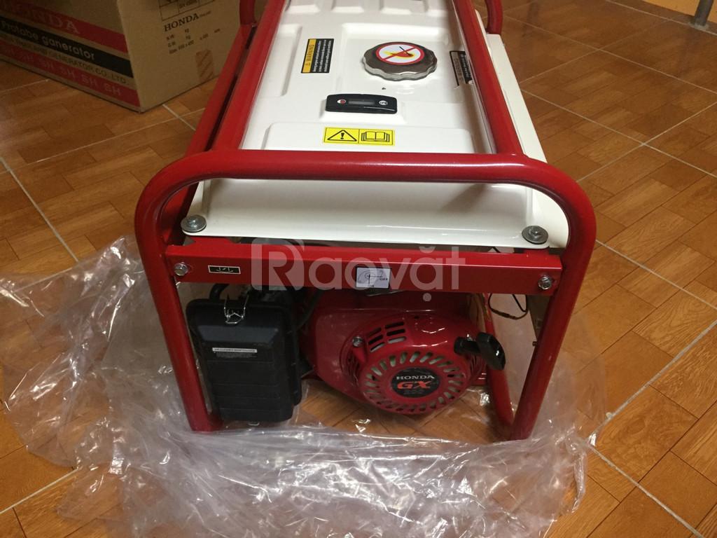Máy phát điện Honda SH 4500C AVR (3kw, xăng)