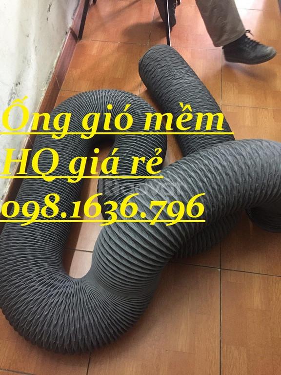 Ống gió mềm vải không bảo ôn D100