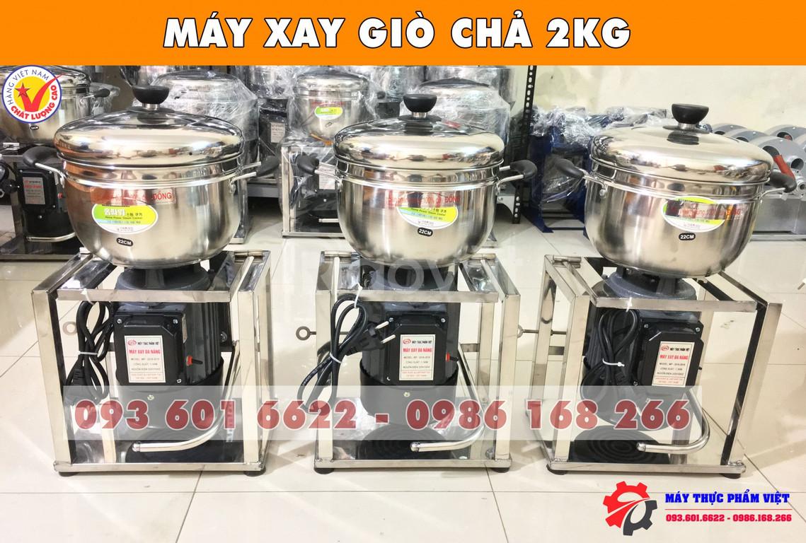 Lý do nên mua máy xay giò chả, xúc xích 2kg của máy thực phẩm Việt