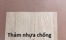 Thảm nhựa lót sàn vân gỗ hàng Việt Nam