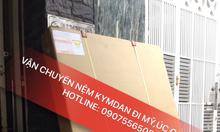 Dịch vụ chuyển hàng đi Canada, nhận chuyển nệm kymdan đi Canada