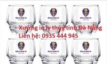 In ly thủy tinh Đà Nẵng, in logo cốc thủy tinh giá rẻ Đà Nẵng
