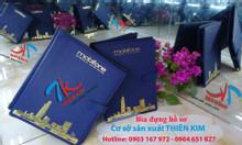 Cơ sở chuyên sản xuất menu da, menu bìa da, thực đơn bìa da