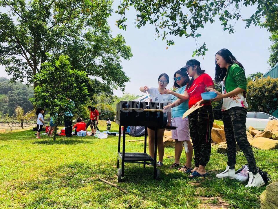 Bếp nướng than hoa ngoài trời Acter Tree Ck350, bếp nướng Việt