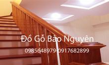 Bán tay vịn cầu thang gỗ lim tại Hà Cầu Hà Đông Hà Nội
