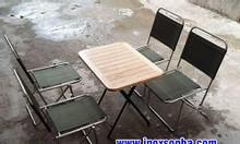 Ghế xếp inox nhỏ, ghế xếp inox cafe, ghế xếp inox giá rẻ