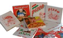 Sản xuất, in ấn hộp bánh pizza, vỏ hộp pizza an toàn thực phẩm