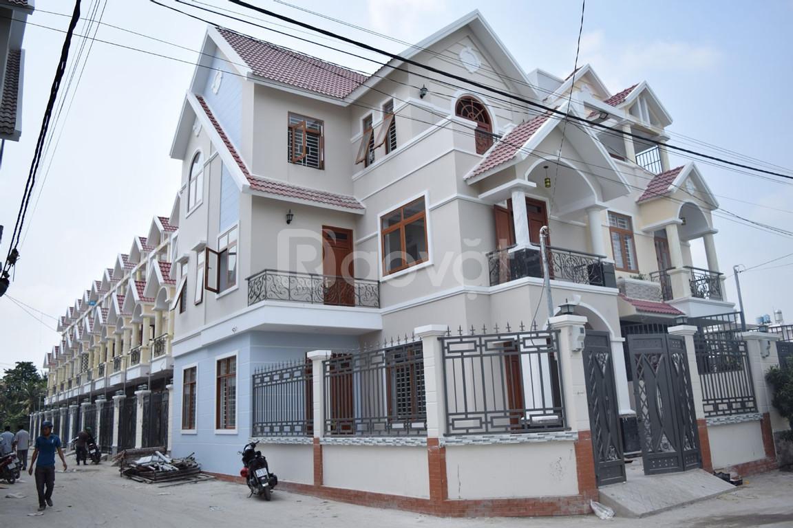 Bán nhà phố Vạn Xuân, Thạnh Xuân Q12, DT 160m2, chính chủ, SHR (ảnh 1)