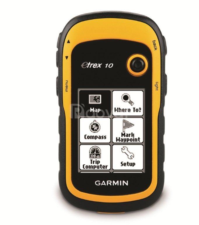 Máy đo diện tích đất GPS Garmin eTrex 10 cầm tay (ảnh 5)