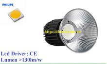 Đèn led nhà xưởng UFO 150W  Chip led Philips SMD sáng