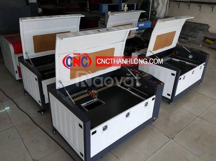Máy laser 6040, máy laser cắt khắc mica, gỗ mdf, vải, khắc dấu