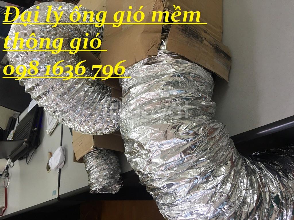 Ống gió mềm nhôm - ống gió mềm nhôm bảo ôn - ống gió Hàn Quốc