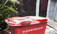 Thùng rác composite, thùng rác môi trường, bán thùng rác 660L