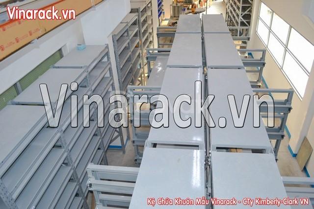 Kệ chứa khuôn mẫu sản xuất bỉm, tã giấy