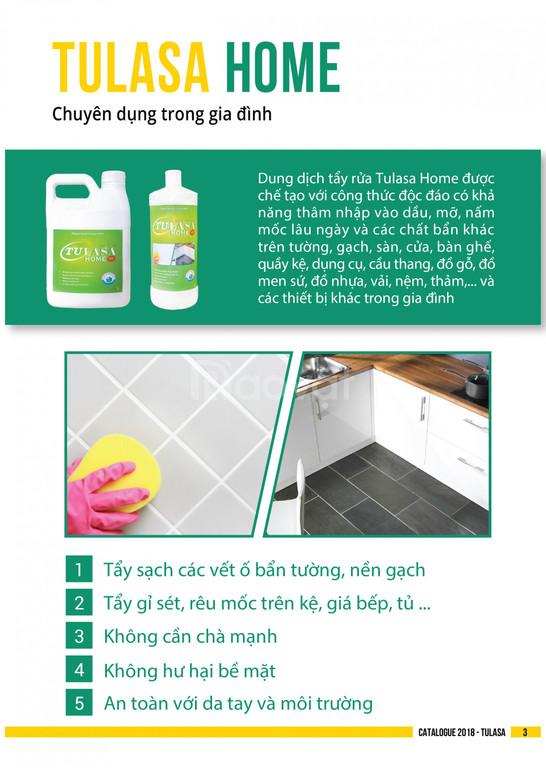 Dung dịch tẩy rửa Tulasa Home 2L