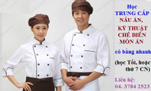 Trường dạy Trung cấp Nấu ăn cấp tốc 8 tháng cho người cần nhanh bằng