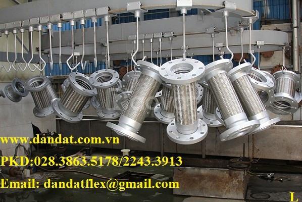 Báo giá ống mềm inox 49, 3LL (khớp nối mềm chống rung) (ảnh 1)