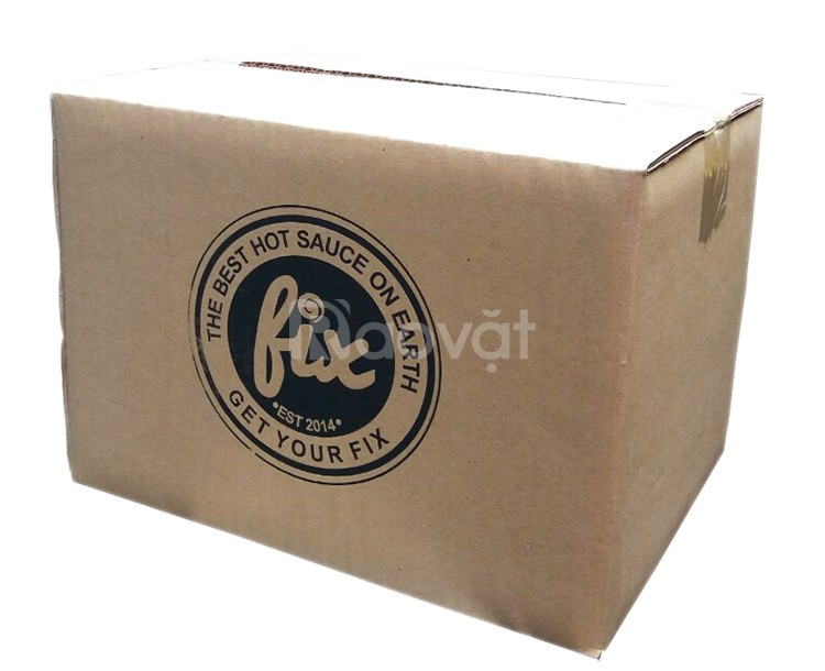 Sản xuất thùng carton 3 lớp in Flexo giá rẻ tại TPHCM (ảnh 6)