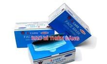 Sản xuất hộp giấy đựng khẩu trang y tế giá rẻ tại tphcm
