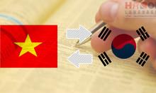Học phiên dịch tiếng Hàn Quốc tại Hà Nội