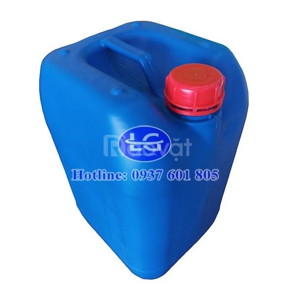 Can nhựa 25 lít, can Nhựa vuông 25 lít, can Nhựa đựng hóa chất