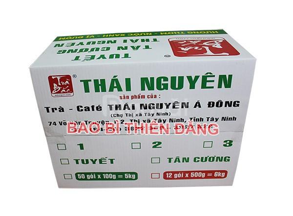 Sản xuất thùng carton 3 lớp in Flexo giá rẻ tại TPHCM (ảnh 1)