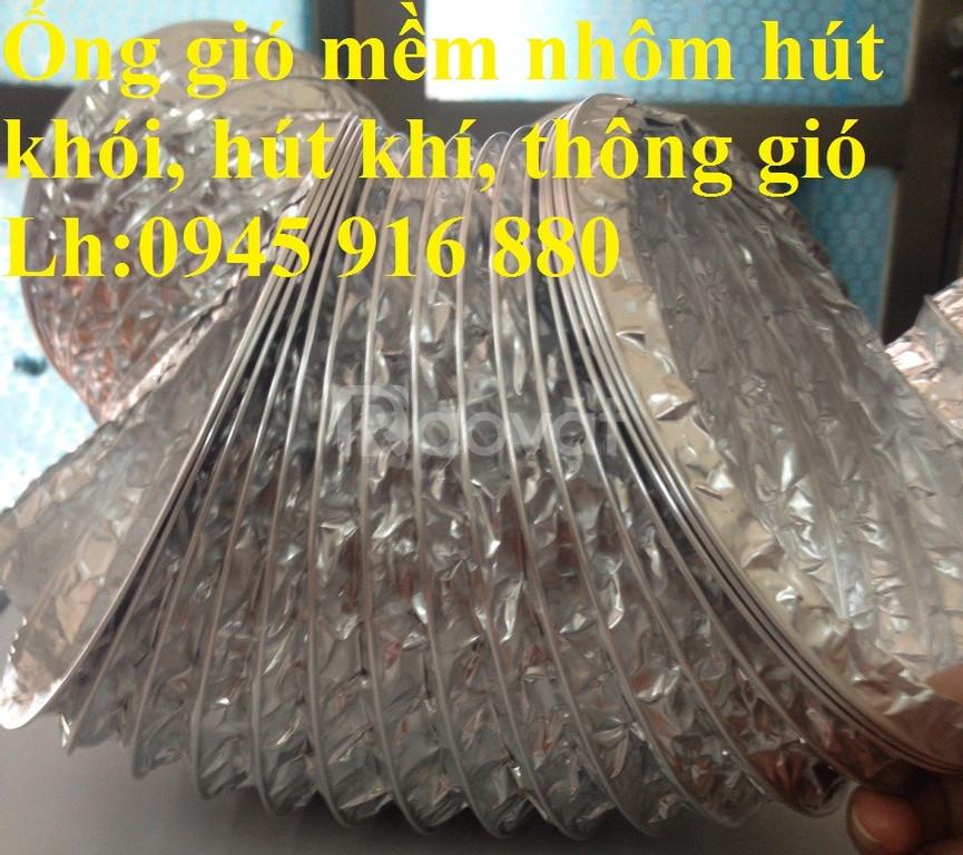 Ống gió chịu nhiệt D100, D125, D150, D200, D250, D300, …, D500 giá tốt
