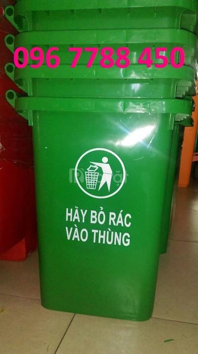 Bán thùng rác nhựa 240 lít giá sỉ toàn quốc