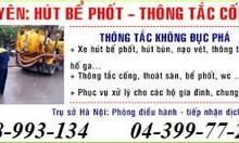 Dịch vụ hút bể phốt tại Ninh Bình