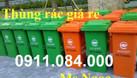 Phân phối giá sỉ lẻ thùng rác 120L 240L toàn quốc  (ảnh 3)