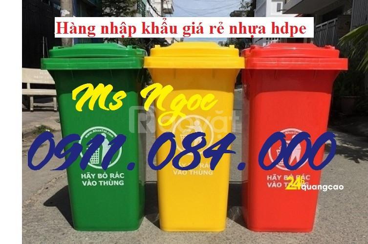 Phân phối giá sỉ lẻ thùng rác 120L 240L toàn quốc  (ảnh 4)