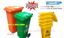 Phân phối giá sỉ lẻ thùng rác 120L 240L toàn quốc