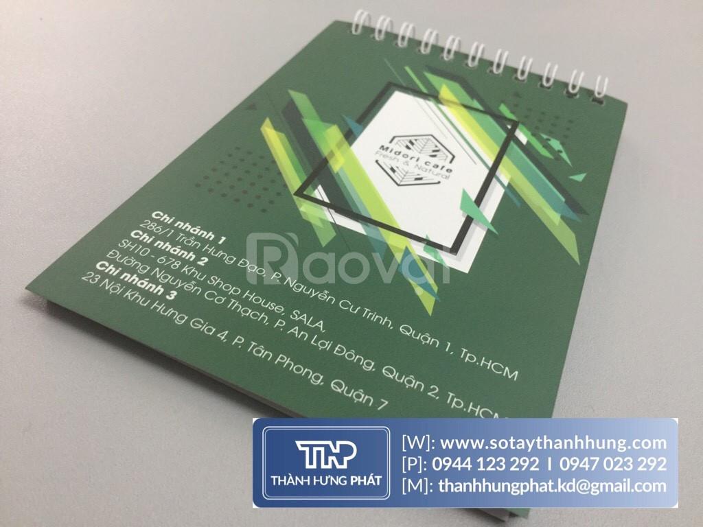 Sản xuất sổ loxo cao cấp giá rẻ địa chỉ sản xuất sổ TpHCM