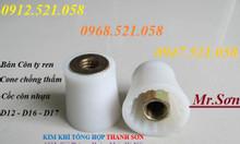 Phụ kiện chống thấm: Đai ốc côn ren vuông vỏ nhựa M12,M16,M17 giá rẻ