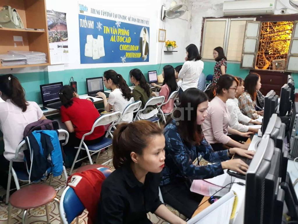 Học kế toán trên chứng từ thực tế - đi học như đi làm (ảnh 1)