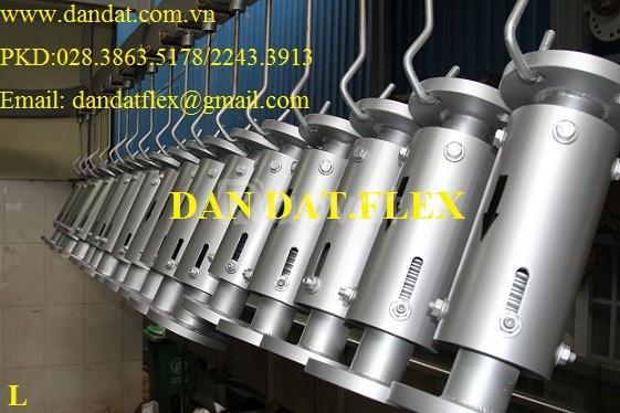 (DN500x300) khớp giãn nở inox, khớp giãn nở nhiệt inox, khớp co giãn