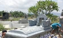 Lăng mộ đá nguyên khối sản xuất tại Ninh Bình
