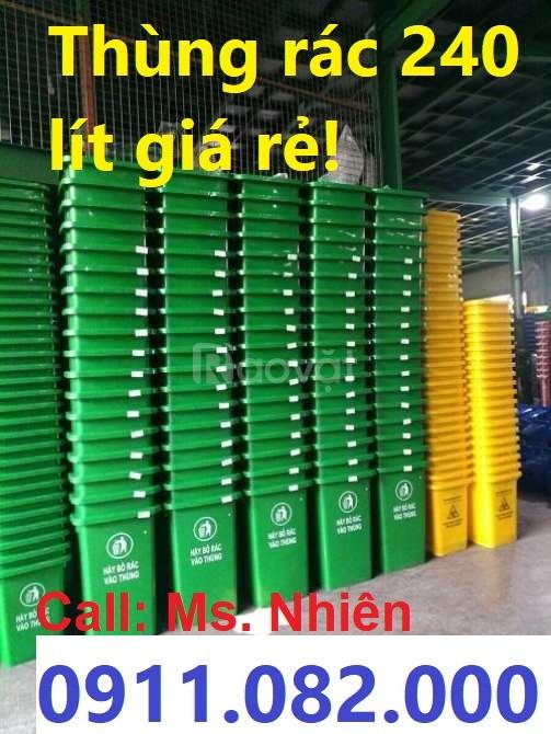 Nơi bán thùng rác 120 lít 240 lít 660 lít giá rẻ Nam Định (ảnh 5)