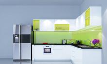 Thi công thiết kế tủ bếp PVC chống nước