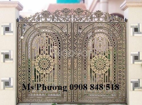 Thiết kế, gia công, thi công cổng sắt nghệ thuật CNC