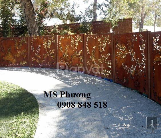 Gia công thi công hàng rào sắt nghệ thuật uy tín, giá tốt tại HCM