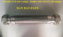 Ống mềm dẫn nước inox, khớp nối mềm, dây dẫn nước mềm inox 304