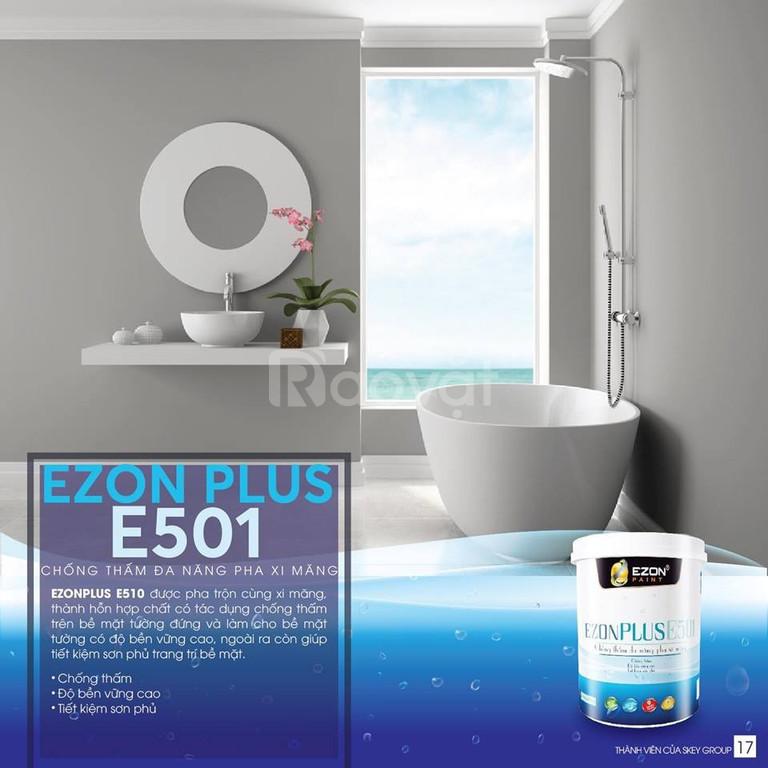 Sơn cao cấp chống thấm đa năng EZONPLUS E501  (ảnh 2)