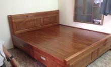 Giường gỗ xoan đào 2 hoặc 4 ngăn kéo